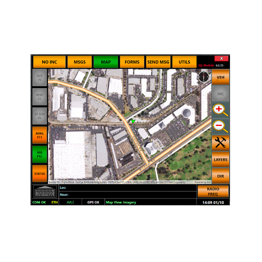 CAD/AVL Software | Public Safety Mobile Data Technology