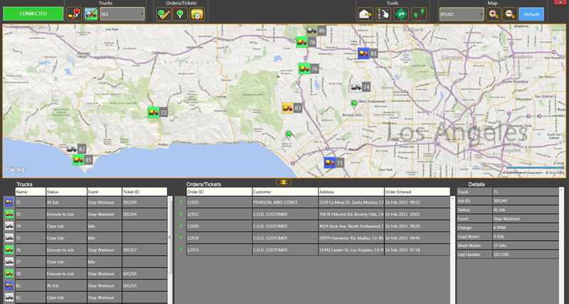 Computer Aided Dispatch Software | AVL Vehicle Tracking